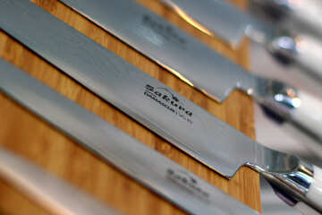 Set of kitchen knives №47194