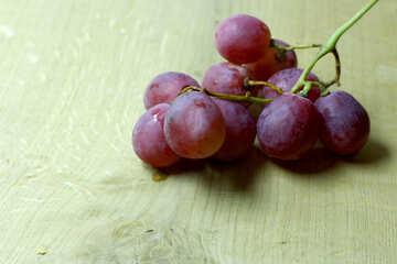 Pink grapes №47272