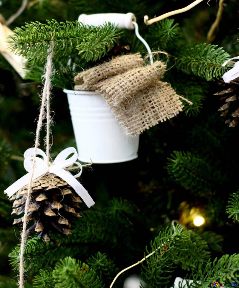 Christmas toy bucket №47813