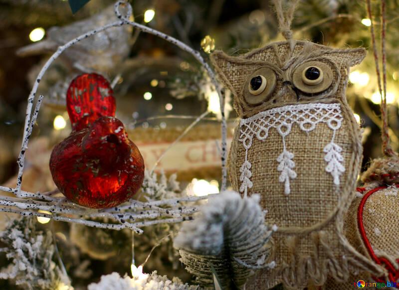 Christmas Decorations Christmas Toys On The Christmas Tree