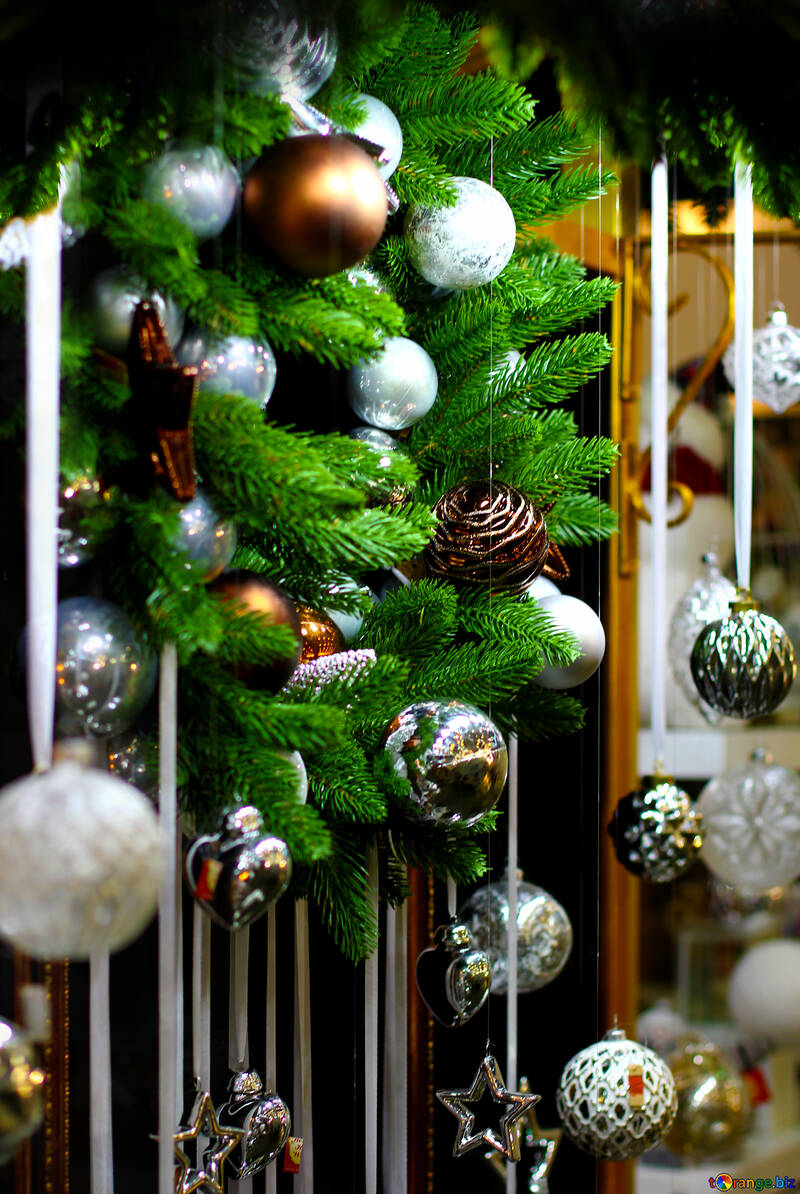 decorations of christmas balls