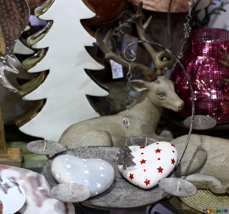 Christmas decorations deer №47585