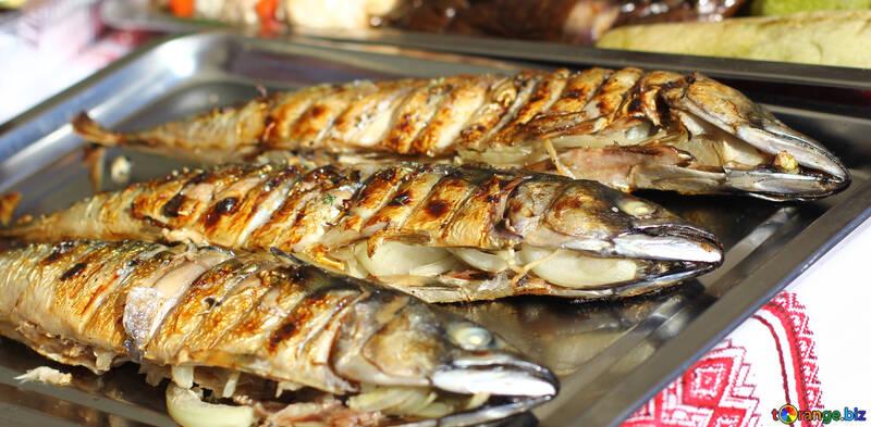 Geräucherte Fische Hering №47520