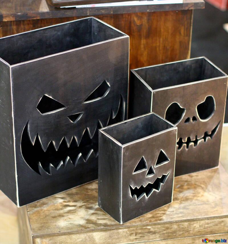 Boxes Halloween №47251