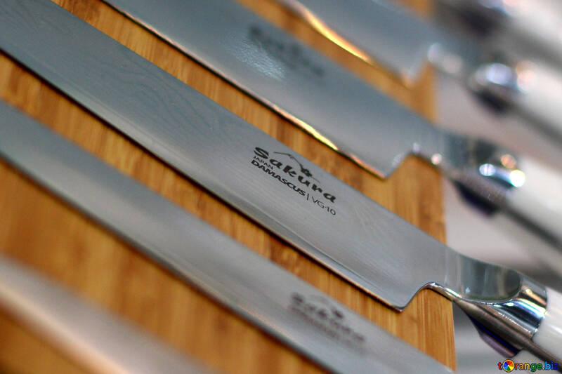 Set of kitchen knives №47194