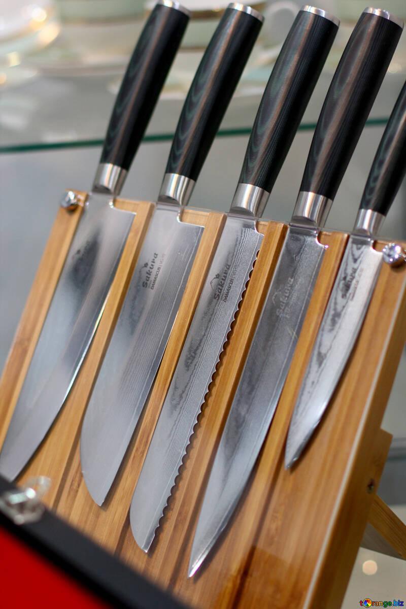 Set of kitchen knives №47199