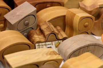 Figured wood caskets №48824
