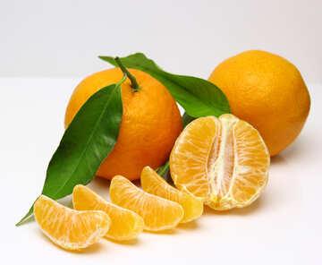 Beautiful mandarins №48221