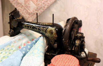 Old sewing machine №48812