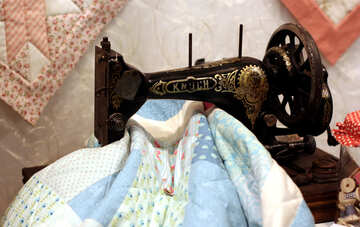 Old sewing machine №48814
