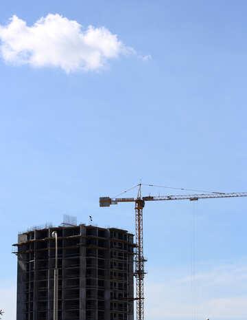 Multi-storey building under construction №48660