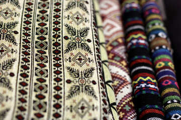 Different fabrics carpet №48894