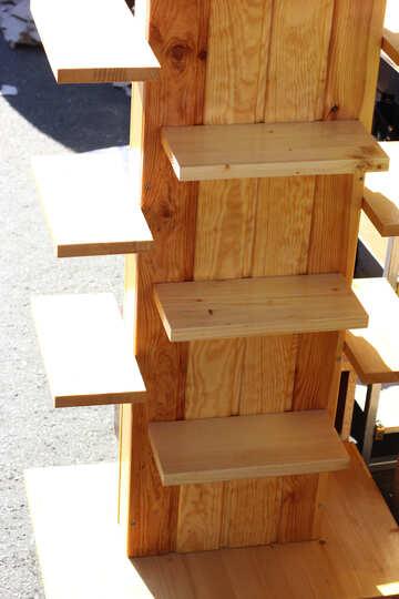 Wooden showcase №48353