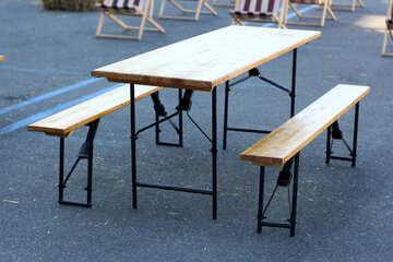 Folding table №48388