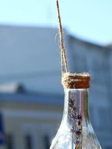 Dekoration von Glasflaschen №48347