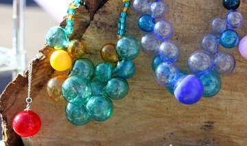 Glass beads №48345
