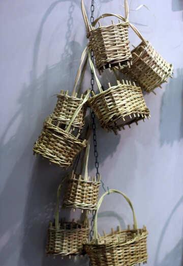 Decorative baskets №48832