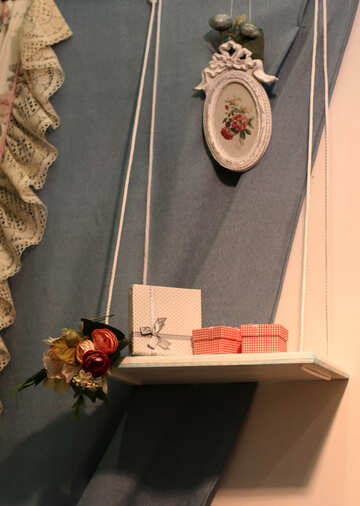 Decorative shelf №48966