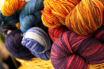 Colored thread for knitting №48991