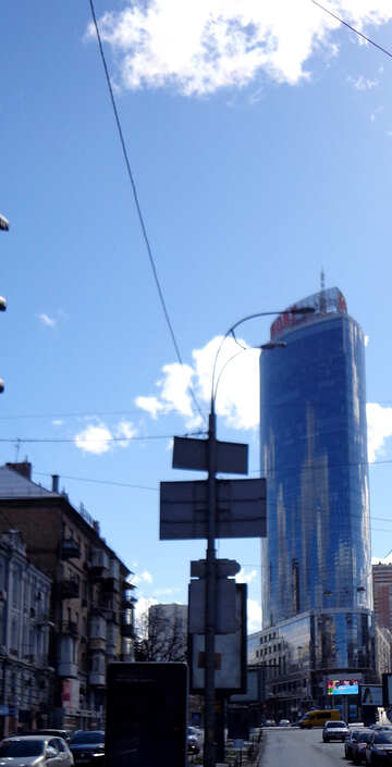 Skyscraper in downtown №48513