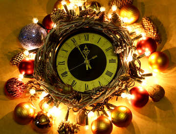 New watches in a wreath №48050