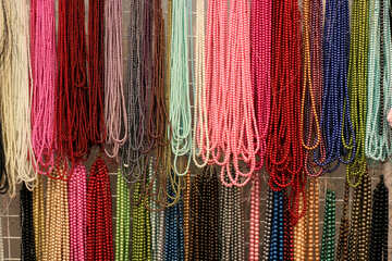 Sale of colored beads №48915