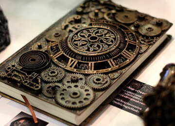 Steampunk  book cover  №48981