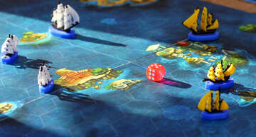 Tavola da bambino gioco Sea Battle №48362