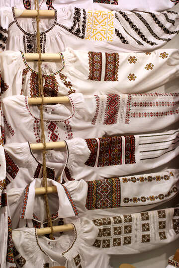 Ukrainian embroidery №48875