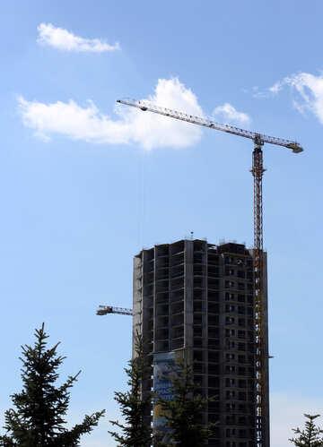 Multi-storey building under construction №48659
