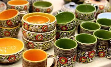 Vintage  pots №48887