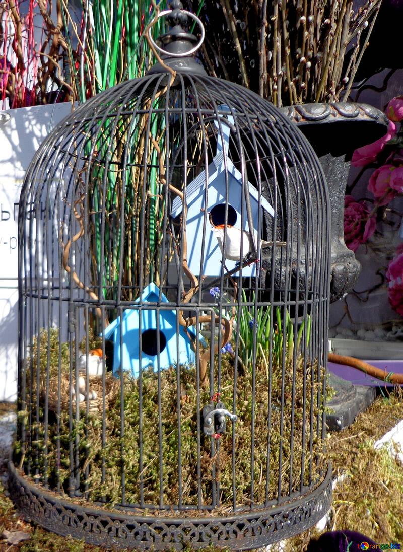 Декоративная клетка для птиц №48507