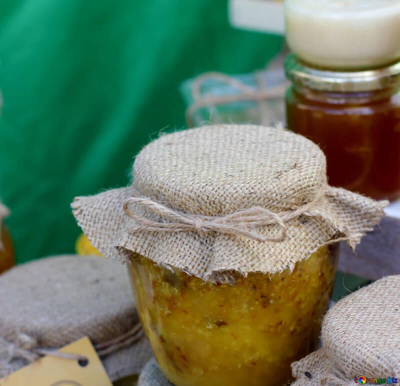 Homemade organic honey №48408