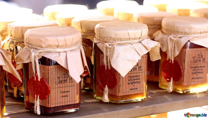Farm Marmelade aus Beeren №48400
