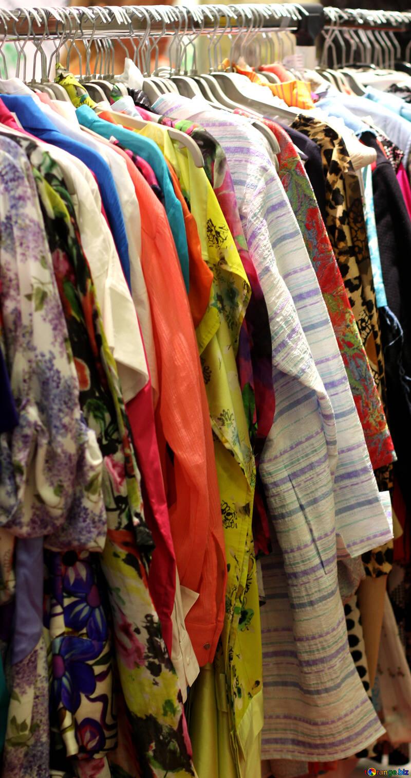 The multi-colored bright clothes №48944