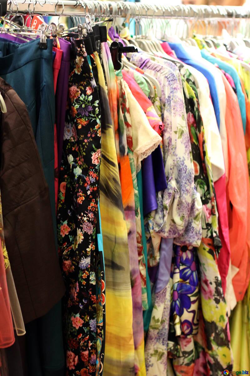 The multi-colored bright clothes №48942