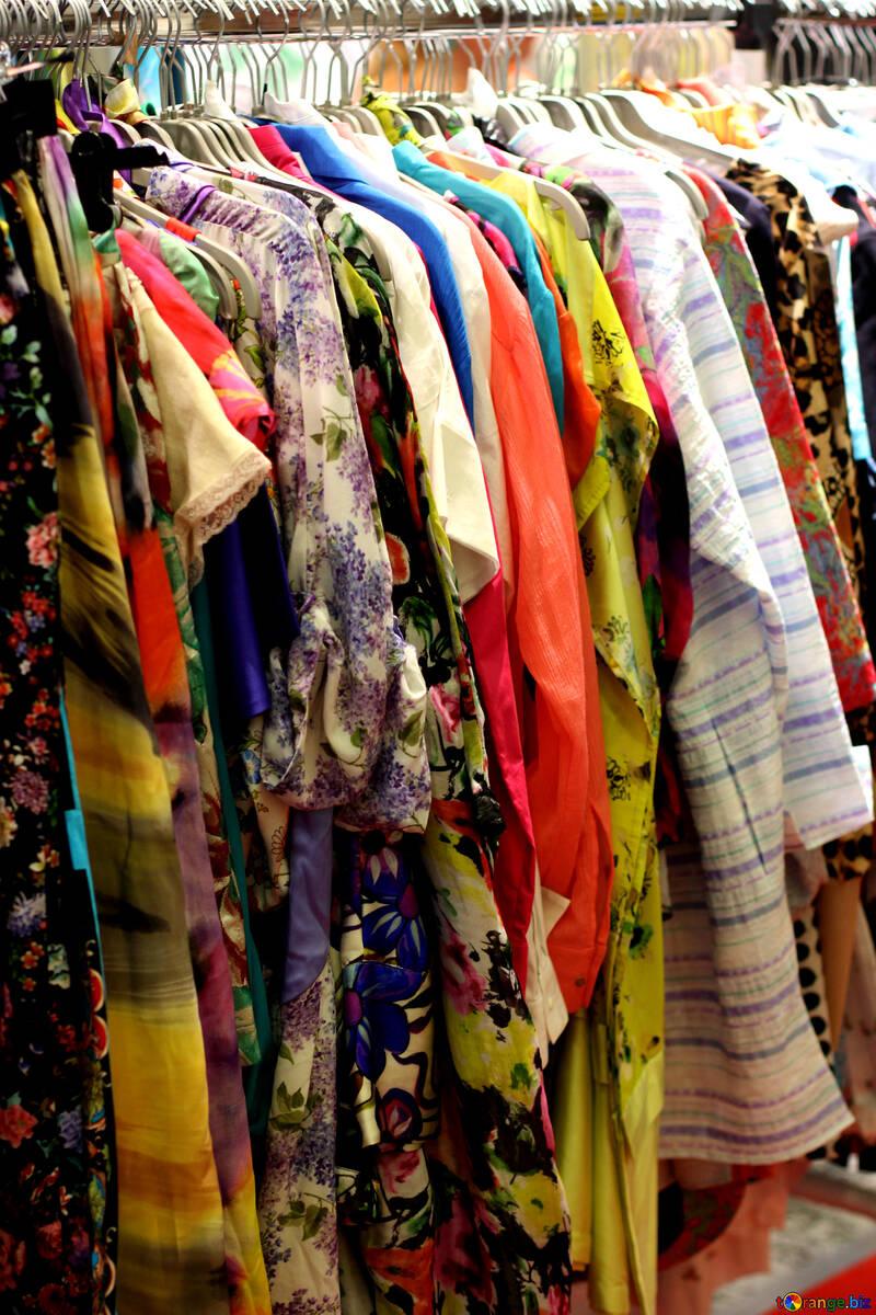 The multi-colored bright clothes №48943