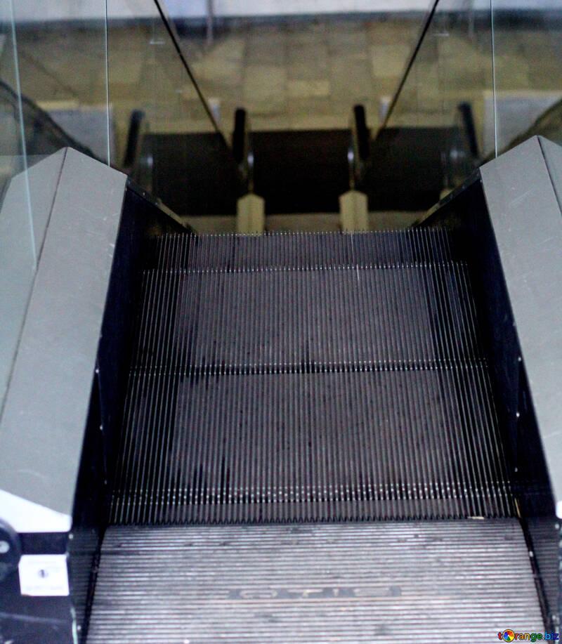 Steps escalator №48435