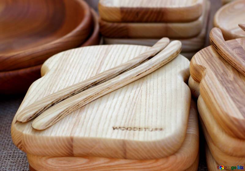 Wooden kitchen board №48412