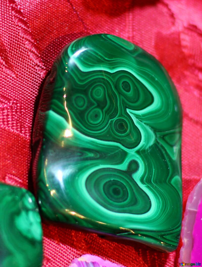 Green stone №48433