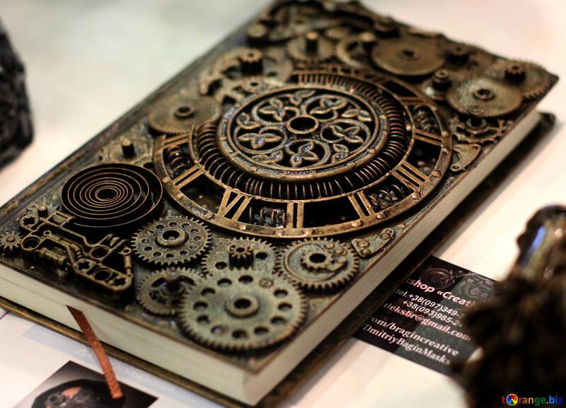 Livre Couverture De Livre Steampunk Livre 48981