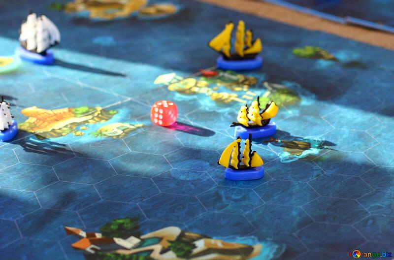 Children`s board game Sea Battle №48361