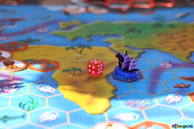 Children`s board game Sea Battle №48364