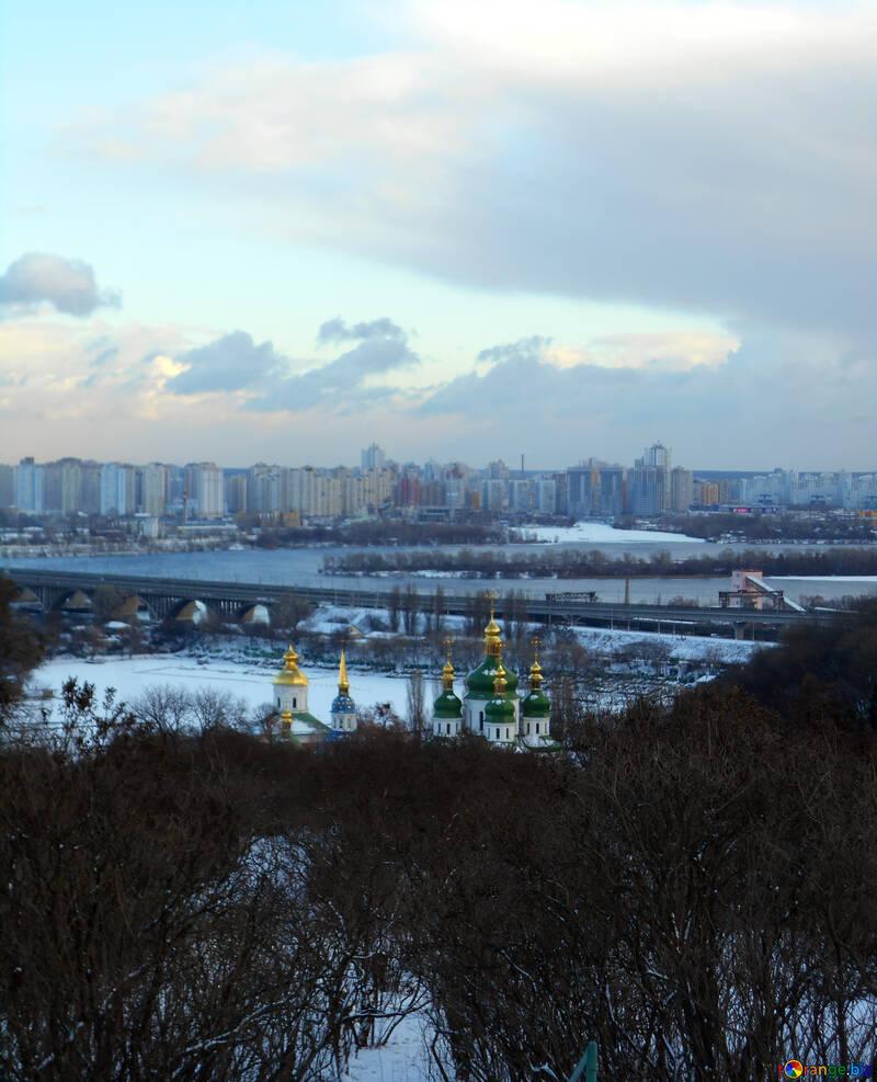 Winter Kiev landscape №48531