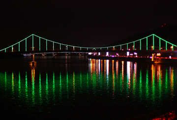 The pedestrian bridge in Kiev №49384