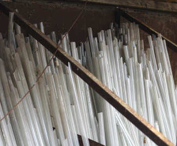 Сырье для елочных украшений из стекла №49437