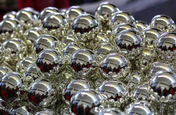 производство рождественских ёлочных украшений №49475