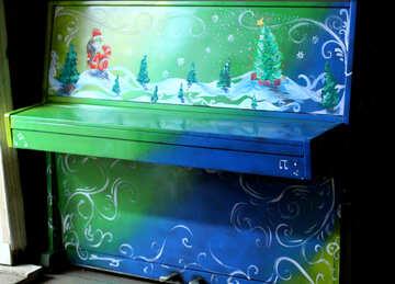 Christmas piano №49427