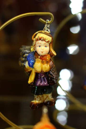 Эксклюзивные новогодние украшения для елки №49546