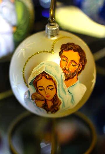 Christmas decoration on the Christmas tree №49513